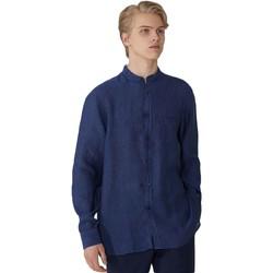 vaatteet Miehet Pitkähihainen paitapusero Trussardi 52C00154-1T002248 Sininen