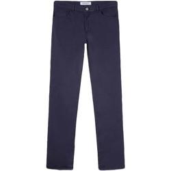 vaatteet Miehet Chino-housut / Porkkanahousut Trussardi 52J00007-1T005015 Sininen