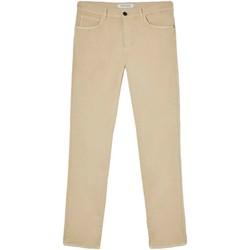 vaatteet Miehet 5-taskuiset housut Trussardi 52J00007-1T005015 Beige