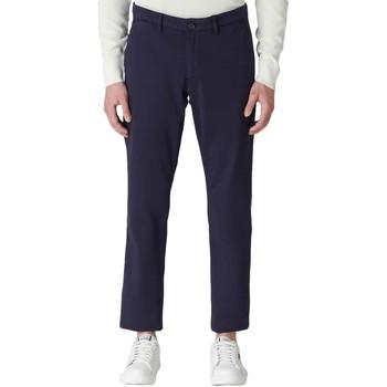 vaatteet Miehet Chino-housut / Porkkanahousut Trussardi 52P00000-1T004946 Sininen