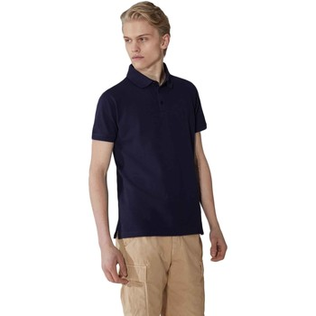 vaatteet Miehet Lyhythihainen poolopaita Trussardi 52T00492-1T003600 Sininen