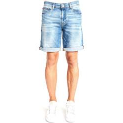 vaatteet Miehet Shortsit / Bermuda-shortsit Gaudi 111GU26038 Sininen