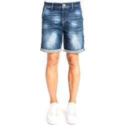vaatteet Miehet Shortsit / Bermuda-shortsit Gaudi 111GU26041 Sininen