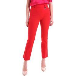 vaatteet Naiset Chino-housut / Porkkanahousut Cristinaeffe 0412 2484 Punainen