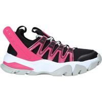 kengät Naiset Matalavartiset tennarit Calvin Klein Jeans YW0YW00097 Musta
