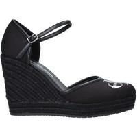 kengät Naiset Sandaalit ja avokkaat Calvin Klein Jeans YW0YW00150 Musta