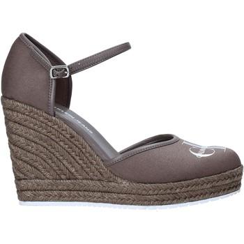kengät Naiset Sandaalit ja avokkaat Calvin Klein Jeans YW0YW00150 Harmaa