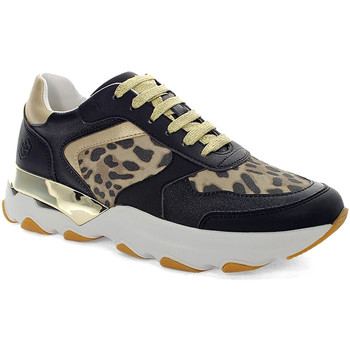 kengät Naiset Matalavartiset tennarit Lumberjack SWB4911 001EU Z34 Musta