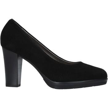 kengät Naiset Korkokengät Confort 16I5860 Musta