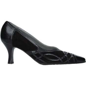 kengät Naiset Korkokengät Confort 6326 Musta