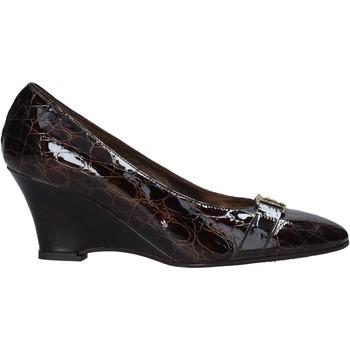 kengät Naiset Korkokengät Confort 7558 Ruskea
