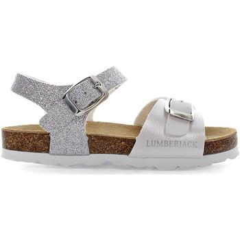 kengät Lapset Sandaalit ja avokkaat Lumberjack SGB4206 001EU X65 Valkoinen