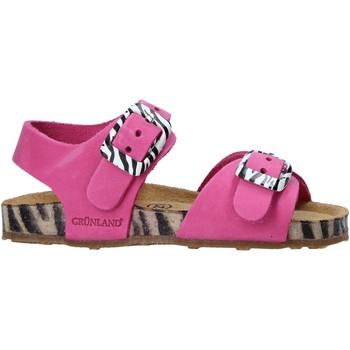 kengät Lapset Sandaalit ja avokkaat Grunland SB1648 Vaaleanpunainen