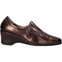 kengät Naiset Mokkasiinit Confort 6309 Ruskea