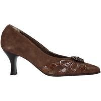 kengät Naiset Korkokengät Confort 6260 Ruskea