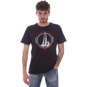 vaatteet Miehet Lyhythihainen t-paita Navigare NV31113 Sininen