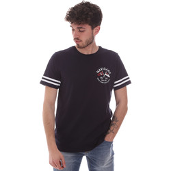 vaatteet Miehet Lyhythihainen t-paita Navigare NV31123 Sininen