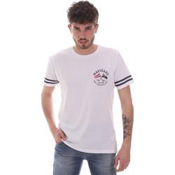 vaatteet Miehet Lyhythihainen t-paita Navigare NV31123 Valkoinen