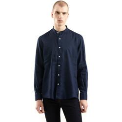 vaatteet Miehet Pitkähihainen paitapusero Refrigiwear RM0C10100LI9110 Sininen