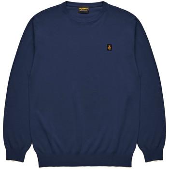 vaatteet Miehet Neulepusero Refrigiwear RM0M25800MA9375 Sininen