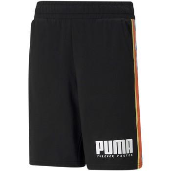 vaatteet Lapset Shortsit / Bermuda-shortsit Puma 585900 Musta
