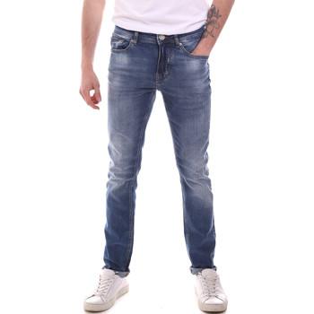 vaatteet Miehet Slim-farkut Gaudi 111GU26007L32 Sininen