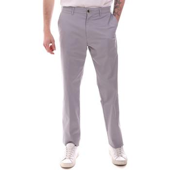 vaatteet Miehet Chino-housut / Porkkanahousut Navigare NV55223 Harmaa
