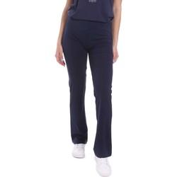 vaatteet Naiset Väljät housut / Haaremihousut Key Up 5LI20 0001 Sininen