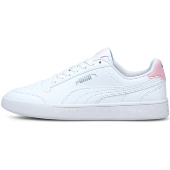 kengät Lapset Matalavartiset tennarit Puma 375688 Valkoinen
