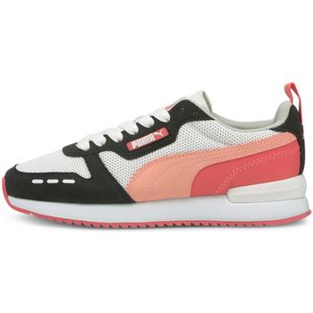 kengät Lapset Matalavartiset tennarit Puma 373616 Musta