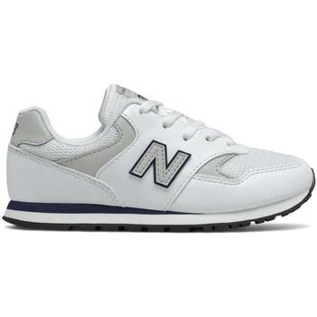 kengät Lapset Matalavartiset tennarit New Balance NBYC393CWN Valkoinen