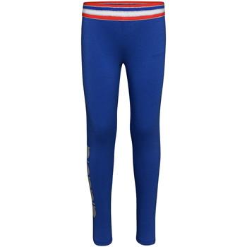 vaatteet Tytöt Legginsit Diadora 102175917 Sininen
