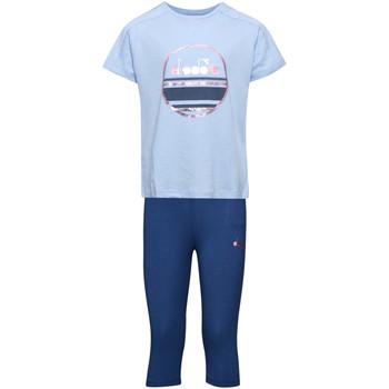 vaatteet Lapset Kokonaisuus Diadora 102175918 Sininen