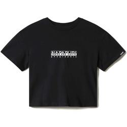 vaatteet Naiset Lyhythihainen t-paita Napapijri NP0A4EYZ Musta