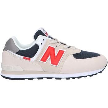 kengät Lapset Matalavartiset tennarit New Balance NBGC574SJ2 Beige