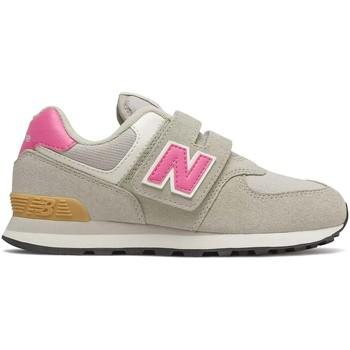 kengät Lapset Matalavartiset tennarit New Balance NBPV574ME2 Harmaa