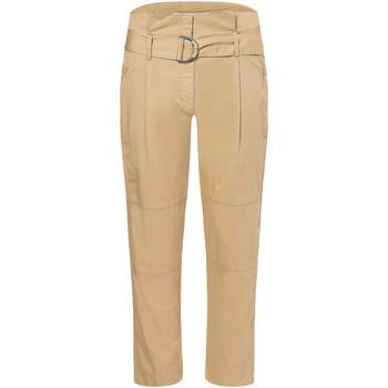 vaatteet Naiset Puvun housut Calvin Klein Jeans K20K202754 Beige