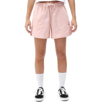 vaatteet Naiset Shortsit / Bermuda-shortsit Dickies DK0A4XCFLPI1 Vaaleanpunainen