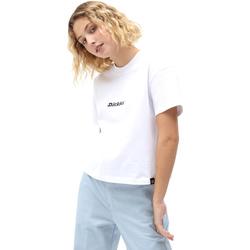 vaatteet Naiset Lyhythihainen t-paita Dickies DK0A4XBAWHX1 Valkoinen