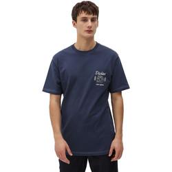 vaatteet Miehet Lyhythihainen t-paita Dickies DK0A4X9NNV01 Sininen