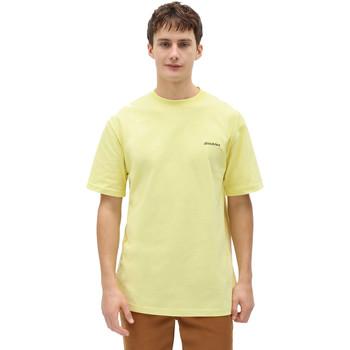 vaatteet Miehet Lyhythihainen t-paita Dickies DK0A4X9OB541 Keltainen