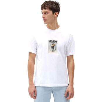 vaatteet Miehet Lyhythihainen t-paita Dickies DK0A4X9IWHX1 Valkoinen