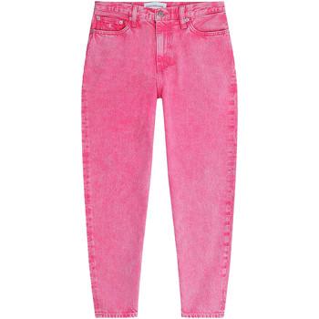 vaatteet Naiset Farkut Calvin Klein Jeans J20J215854 Vaaleanpunainen