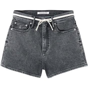 vaatteet Naiset Shortsit / Bermuda-shortsit Calvin Klein Jeans J20J216307 Harmaa