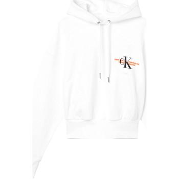 vaatteet Naiset Svetari Calvin Klein Jeans J20J216351 Valkoinen