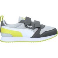 kengät Lapset Matalavartiset tennarit Puma 373618 Harmaa
