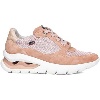 kengät Naiset Matalavartiset tennarit CallagHan 45800 Vaaleanpunainen