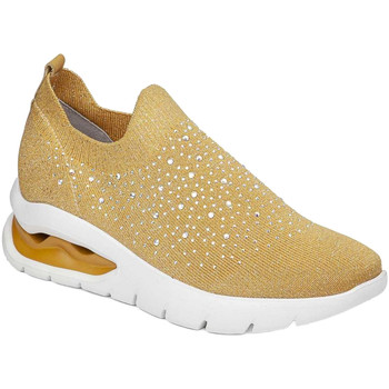 kengät Naiset Tennarit CallagHan 45806 Keltainen