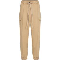 vaatteet Naiset Reisitaskuhousut Calvin Klein Jeans K20K203121 Beige