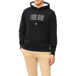 vaatteet Miehet Svetari Calvin Klein Jeans K10K107144 Musta
